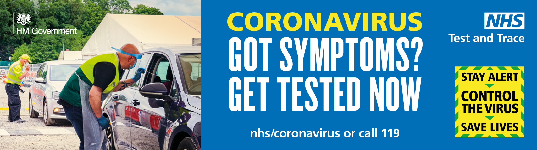 Corona Virus - Got symptoms? get tested now